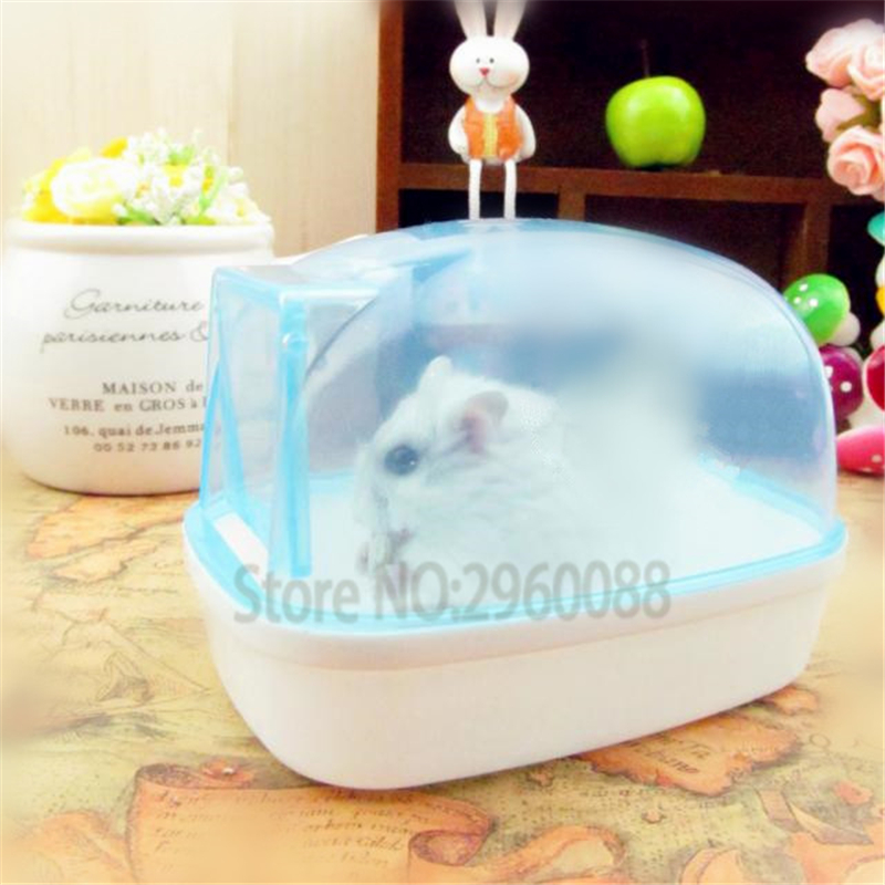 New Free Shipping Bathroom Bathroom Sauna Bathtub Small Pet Hamster Mouse Squirrel Can Effectively Prevent The Bath Fly Out