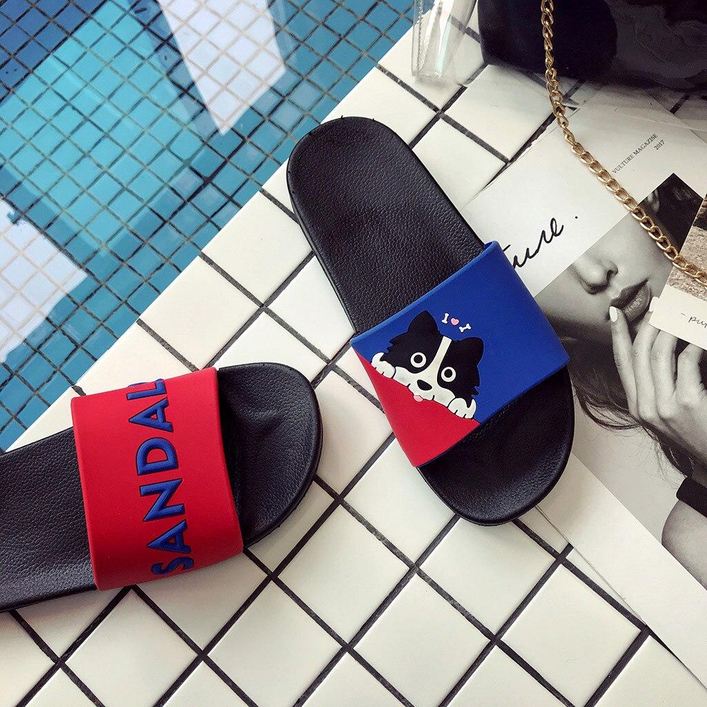 Домашняя и уличная одежда для пар; нескользящие пляжные сандалии и шлепанцы на толстой подошве