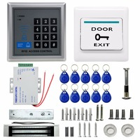 Direct Factory Electric Door Lock Magnetic Modern Access Control System ID Card Password Proximity Door Entry Keypad For Door