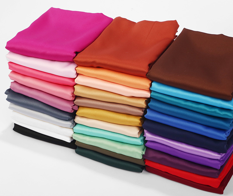Image 2 - 1pc New Arrival Smooth Matt Color Satin Scarf Shawls Plain 