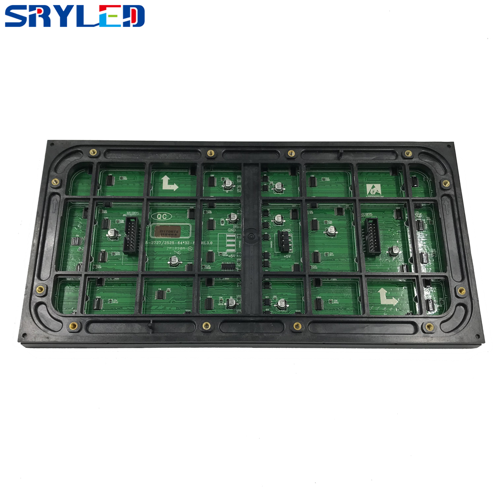 64x32 outdoor rgb 3in1 full color smd2727 320mm x 160mm 1/8scan ultra bright led hd module