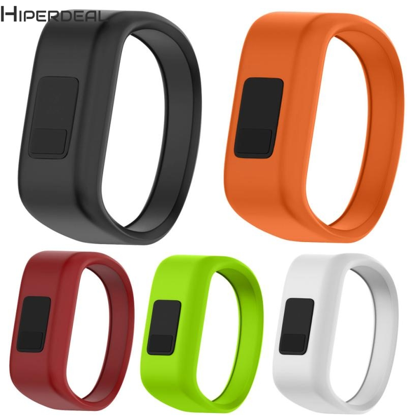 HIPERDEAL New Large Replacement Wrist Band Silicon Strap Clasp For Garmin vivofit JR Watch 17Dec21 Dropshipping