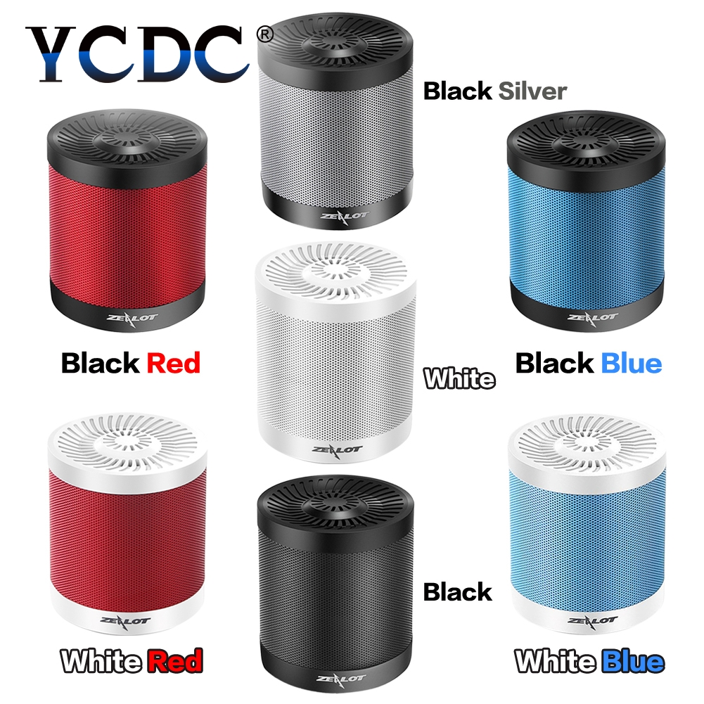 YCDC Original Zealot S5 Best Mini Altavoz Bluetooth Speaker Portable Speaker Powerful Enceinte Bluetooth Speakers,USB TF card
