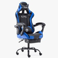 Новый синтетический кожаный игровой спортивный эргономичный коленчатый стул для работы дома, роскошная офисная мебель, компьютерные игров