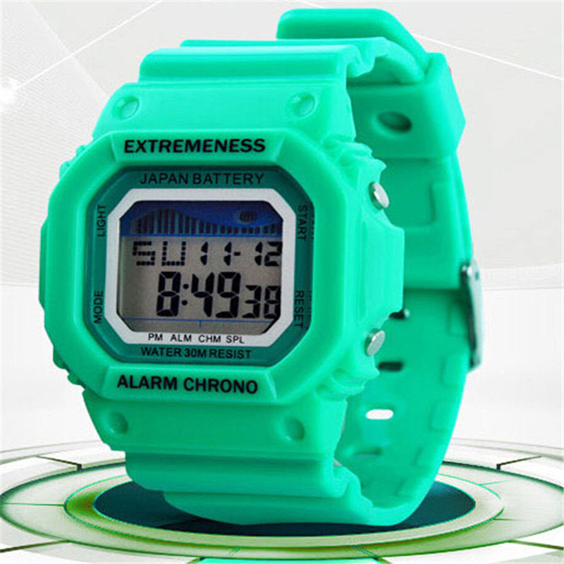 New Women Sports Watches Digital Clock Military Ladies Watches Student Girl Fashion Women Wristwatch Hours Relojes