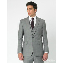 beach wedding suits light gray for men suit slim fit modern groom tuxedo high quality prom wear 2017