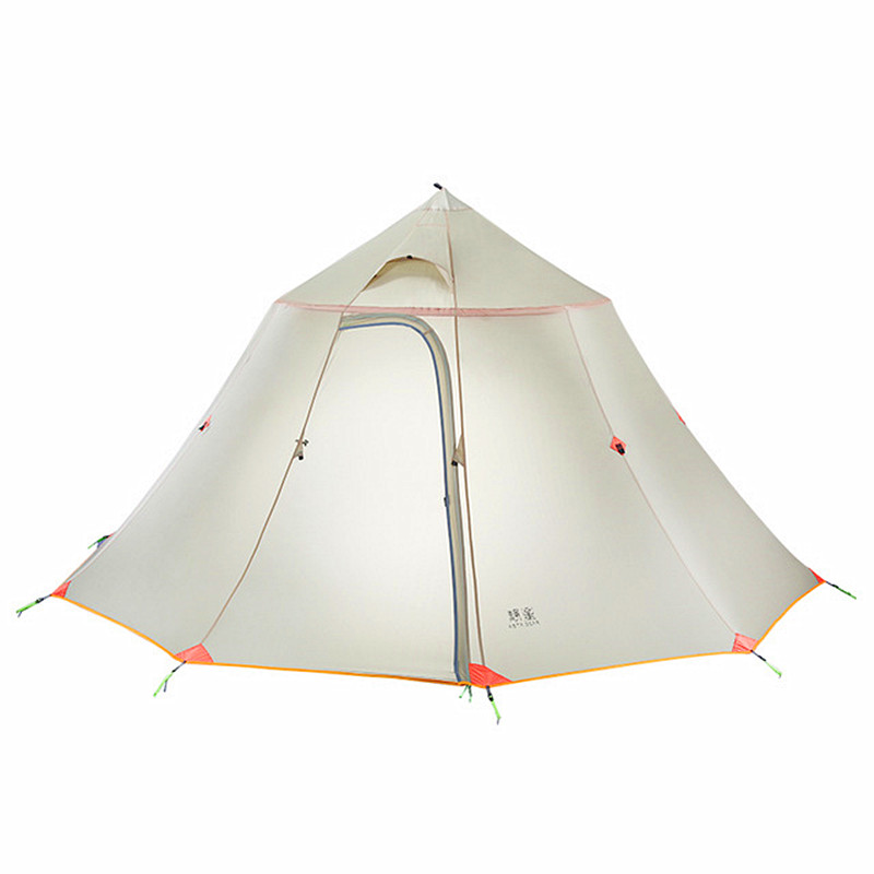 AstGear Berg Haus ultraleicht zelt 2 6 Personen Pyramide Outdoor Zelt Team Basis Zelt Kollektiven Zelt Camping Große Zelt-in Zelte aus Sport und Unterhaltung bei AliExpress - 11.11_Doppel-11Tag der Singles 1