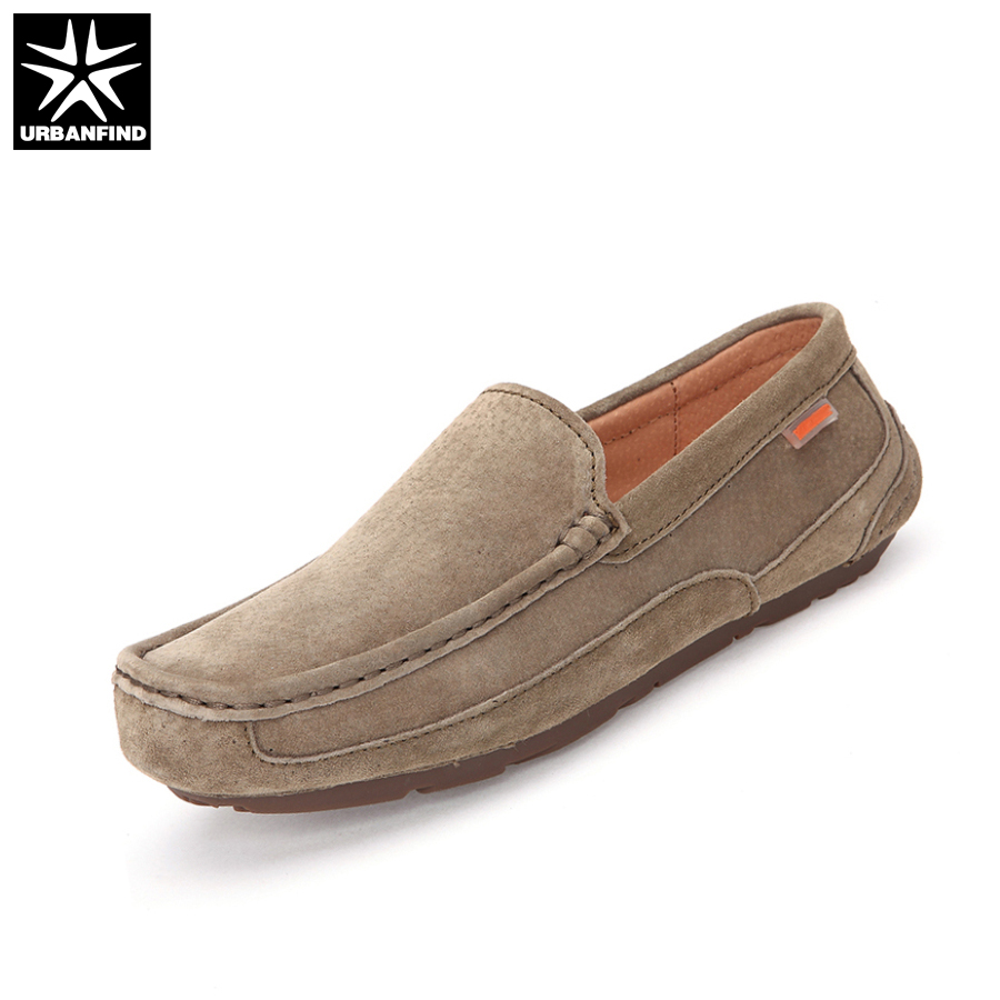 URBANFIND New Fashion Men Moccasins Man Driving Shoes Size 39-44 Breathable Slip-on Male Casual Loafers urbanfind men fashion leather loafers big size 38 48 comfortable soft man slip on driving shoes 5 colors fur no fur 2 styles