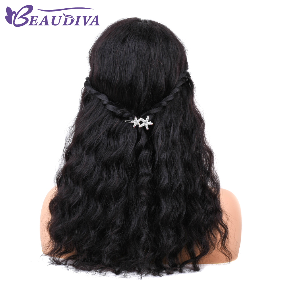 Lace Wigs Human Hair Lace Wigs Brazilian Human Hair Wigs Ocean Wave Hair Wigs With Bangs For Women Non Remy Hair Front Wig Natural Color Full Machine Wigs Selling Well All Over The World