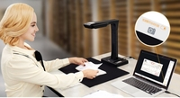 Высокоскоростной умный сканер книги высокой четкости сканер цифровой визуализатор VGA HDMI 18 M Пиксели сканер Визуальные презентеры