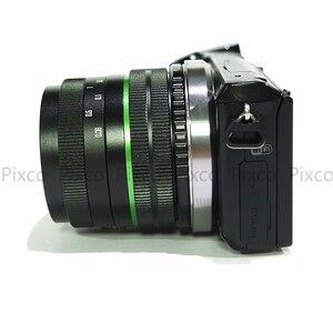 Image 3 - Venes 25mm f/1,8 APS C lente + parasol de lente + anillo Macro + adaptador de montaje de 16mm C adecuado para una variedad de cámaras para Panasonic
