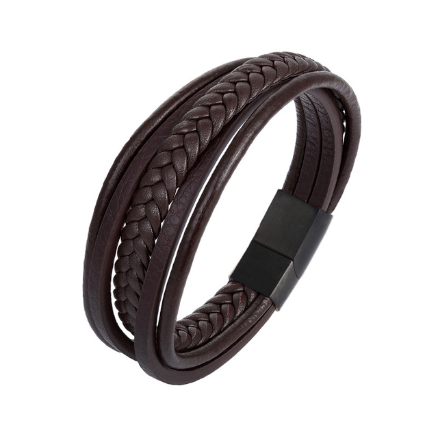 MINIMALISM Leather Bracelet...