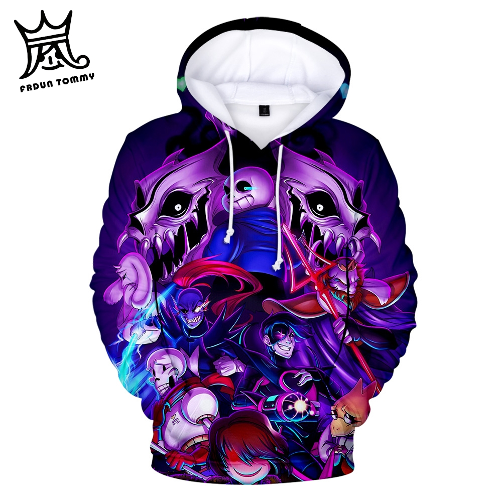 Frdun Tommy Undertale Lambert 3D Printed Hoodies Women/Men Fashion Long Sleeve Hooded Sweatshirt 2019 Casual Streetwear Clothes