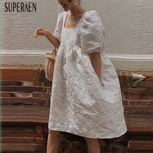 Casual Cotton Dress Clothing