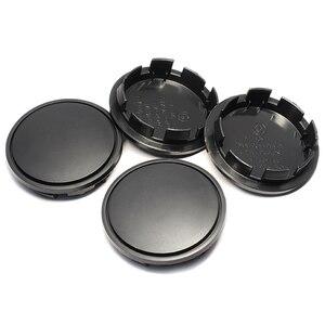 Image 4 - 4pcs 65mm Black Plastic Car Wheel Center Caps Tyre Rim Hub Cap Cover for Volkswagen Skoda Car Hubcaps