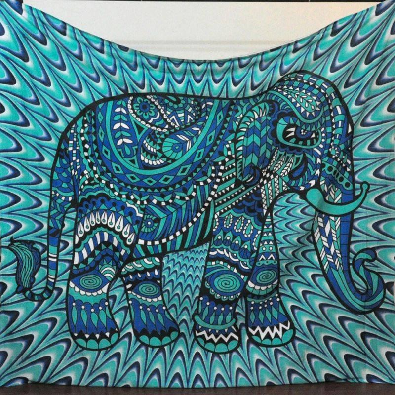 Elephant Wall Hanging aliexpress : buy bohemia mandala blankets tapestry elephant