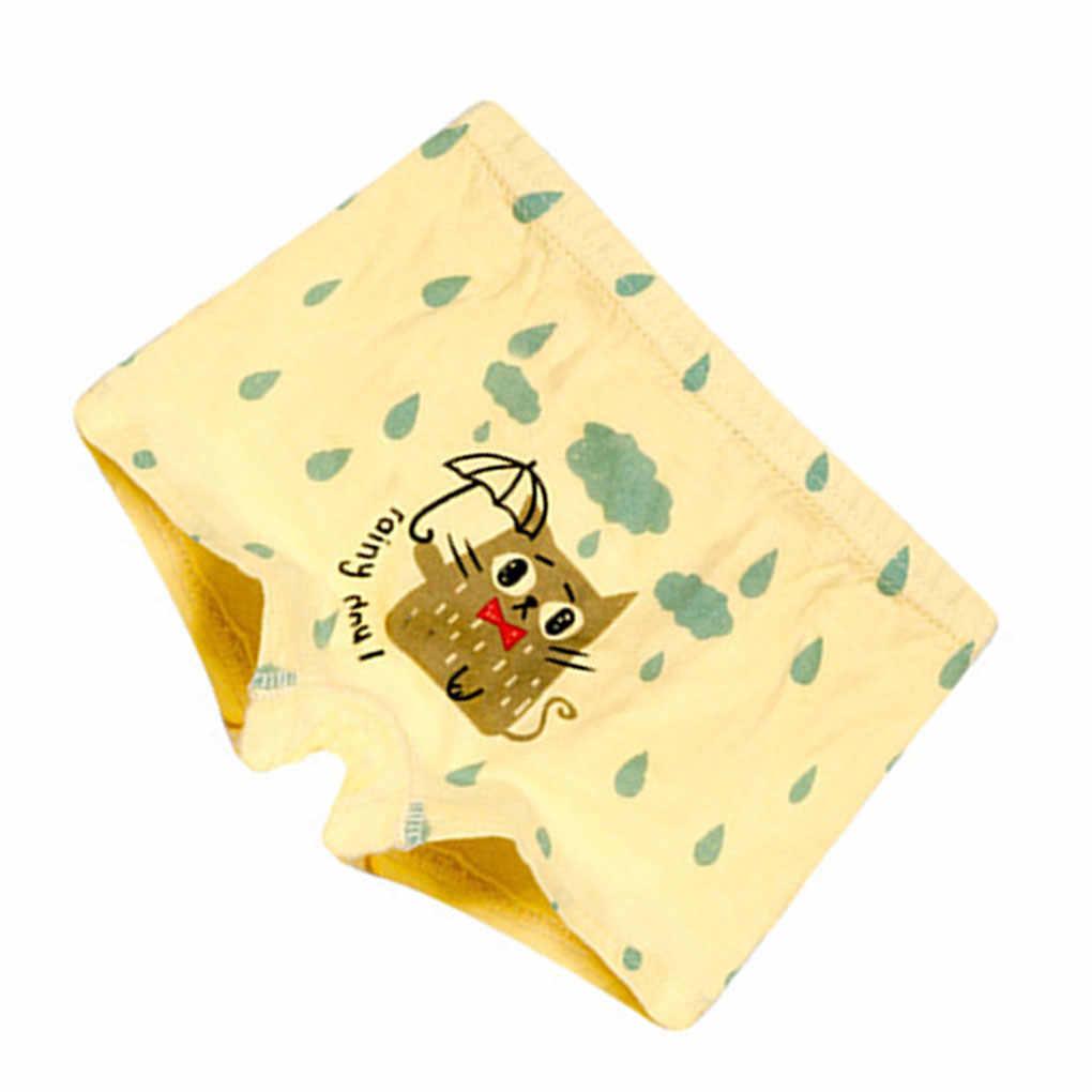 Лидер продаж 2 шт./компл. для маленьких мальчиков печати капля воды трусы-боксеры с изображением животных, нижнее белье, трусы с персонажами мультфильмов Трусы Комплект трусиков