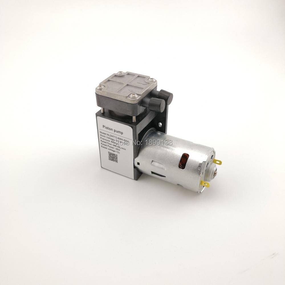 цена на DC 45W 85kpa electric mini vacuum Pump 12v piston vacuum pump