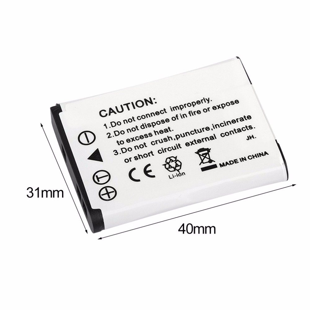 3 7V 1200MAH Rechargeable Li ion Battery Digital Camera Replacement Battery Pack Suitable For Nikon EN EL19 Camera in Rechargeable Batteries from Consumer Electronics