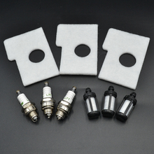 3 Set Air Fuel Filter L7T Spark Plug For Stihl Chainsaw 017 018 MS180 MS170 MS 170 180 Replce