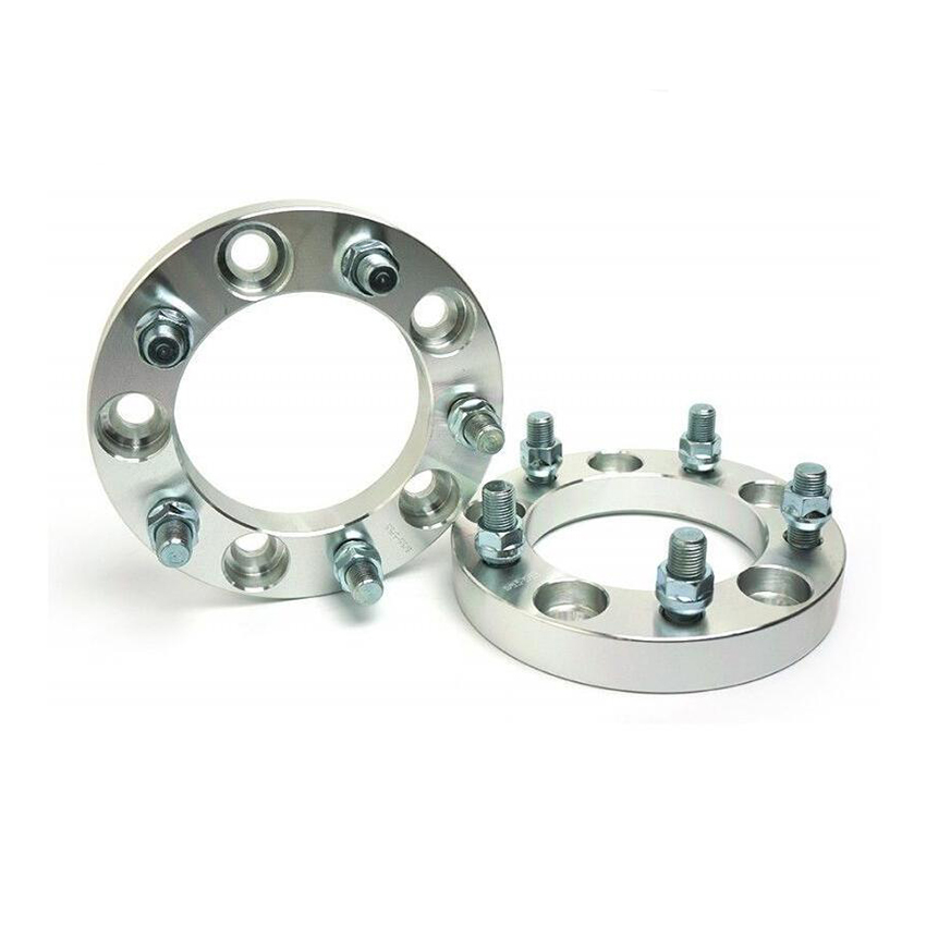 2 Pcs Wheel Spacers <font><b>5X139.7</b></font> To <font><b>5X139.7</b></font> ( 5X5.5 ) | 1/2 Studs | 108 MM CB | 30MM image