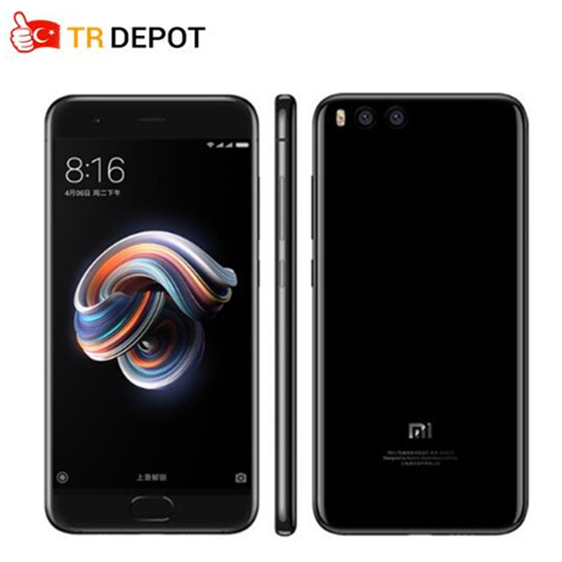 Original Global ROM Xiaomi Mi Note3 4/6GB 64/128GB Smartphone Snapdragon 660 Octa Core 5.5'' FHD 12MP Dual Camera