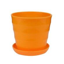 Colourful Mini Plastic Flower Pot