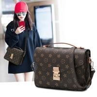 Women Shoulder Bag PVC Leather Crossbody Bags Women Purse Classic sac a main Luxury Fashion Designer Bag Coin purse Bolsos Mujer