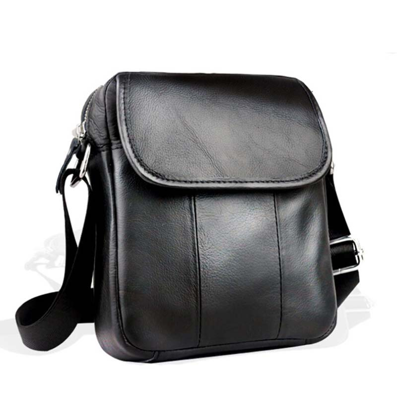 Genuine Leather Male Bags Vintage Men Messenger Bags Casual Men s Cross Body Shoulder Bag Men