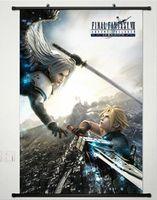 Anime Cloud Strife Sephiroth Final Fantasy VII Home Decor Poster Wall Scroll