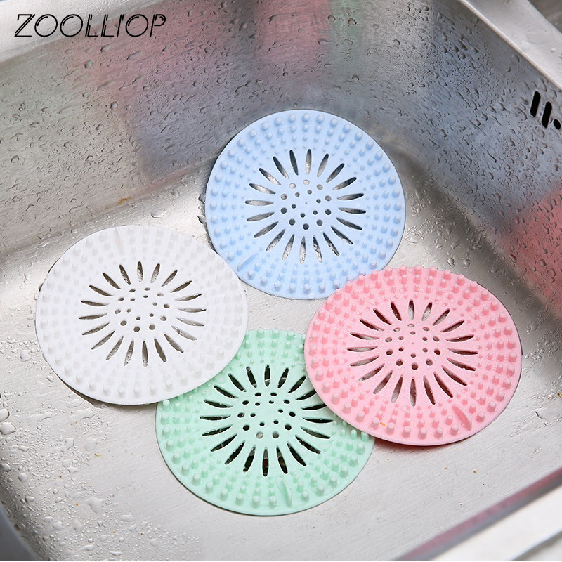 Permalink to Creative Kitchen Drains Sink Strainers Filter Sewer Drain Hair Colander Bathroom Cleaning Tool Kitchen Sink Accessories Gadgets