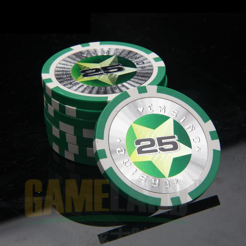 New Professional Casino Chip Laser Poker Chips 12g Iron+Clay+ABS Casino Chips Texas Holdem Poker Wholesale High Quality poker