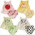 Criança Bebê Roupas de Verão Conjuntos de Roupas de Bebê Meninas Dos Desenhos Animados Macacão de Bebê Roupa Infantil Macacões de Bebê Roupas Menino + Shorts
