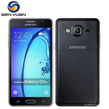 "Original Samsung Galaxy On5 G5500 4G LTE Mobile Phone Unlocked 1.5GB+8GB Quad core Dual Sim 5.0 "" Refurbished Android Cell Phone 1"