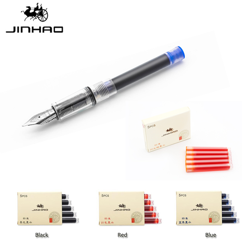 15PCS Set Jinhao Fountain Pen Ink Refill Cartridges Colorful Color International Standard Size Disposable and Generic Ink Refil15PCS Set Jinhao Fountain Pen Ink Refill Cartridges Colorful Color International Standard Size Disposable and Generic Ink Refil