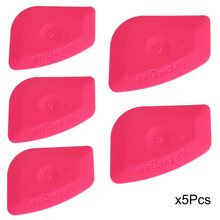 EHDIS 5Pcs Mini Lil Chizler Squeegee Ice Scraper Car Window Tint Film Wrapping Tool Vinyl Wrap