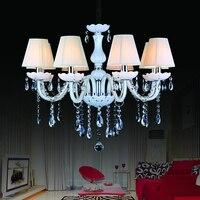 Crystal Chandelier Lighting Kristall Kurze Modern Lustres De Cristal Chandelier For Dining Living Room Indoor Decoration