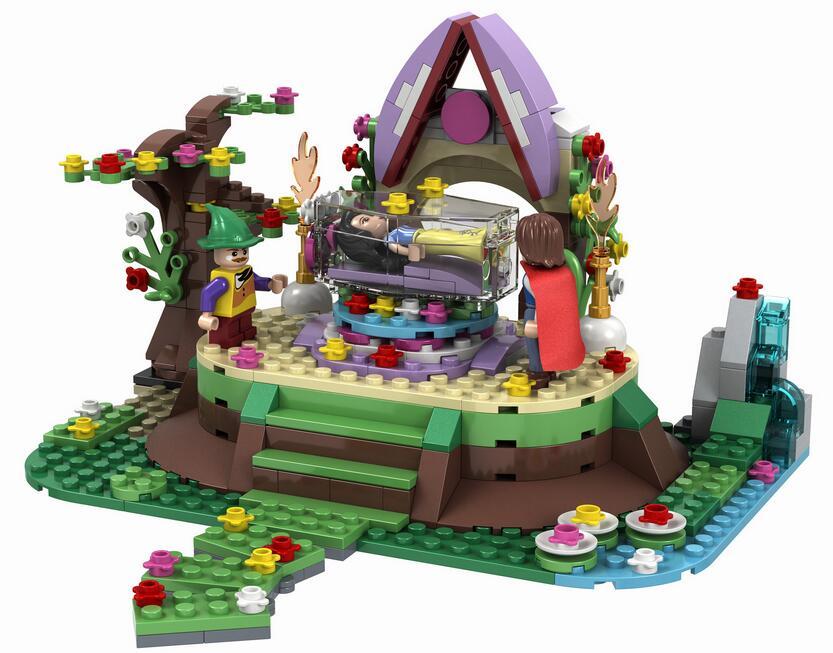 2016 New Winner 460pcs Building Blocks Fight Inserted Bricks Snow White Girl Compatible font b Legoe