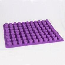купить Silicone Ice Mold 88 holes DIY Creative small round Shape candy jelly Mold Fruit Ice Cream Maker Bar Kitchen Accessories PR364 по цене 1106.58 рублей
