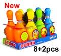 Novas bolas de brinquedo do bebê conjunto brinquedo bola de boliche jogo de boliche dos desenhos animados do bebê brinquedos para as crianças
