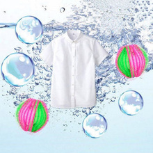 6pcs Magic Washing Machine Ball Hair Lint Fluff Grabbing Removal Balls Reuseable Eco Laundry Wash Dryer For Clothes