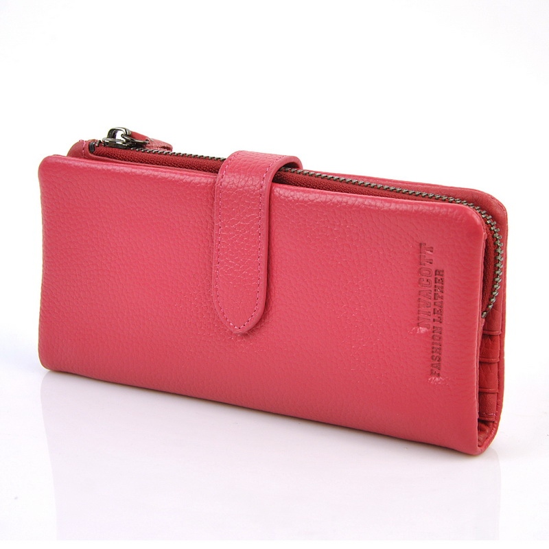 Women Genuine Real Leather Snap Clutch Long Wallet Cellphone Mobile Credit Card Holder Organizer Zip Coin Bag Photo Window Purse maifeini new genuine leather long wallet women real leather card holder coin purse 2017 sexy ladies bifold leather clutch bag