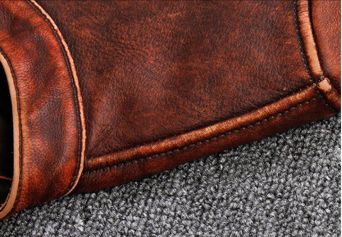 HTB1ZJPeUhTpK1RjSZFMq6zG VXaO Free shipping.Plus size Brand Classic style cowhide jacket,mens 100% genuine leather jackets,biker vintage quality coat.sales