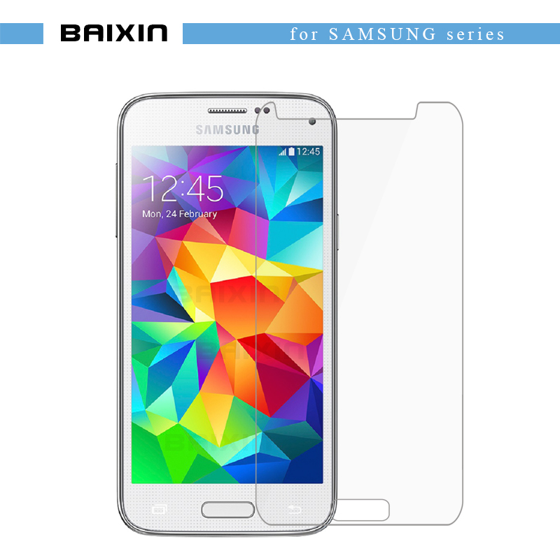 baixin Sreen Protector For samsung galaxy S5 S 5 i9600 Tempered Glass Anti Shatter Screen Glass Cover Protector protective Film