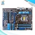 Для Asus P8P67 LE Оригинальный Используется Для Рабочего Материнская Плата Для Intel P67 Socket LGA 1155 Для i3 i5 i7 DDR3 32 Г SATA3 USB3.0 ATX