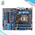 Para asus p8p67 le original usado motherboard desktop para intel p67 soquete LGA 1155 Para i3 i5 i7 DDR3 32G SATA3 USB3.0 ATX
