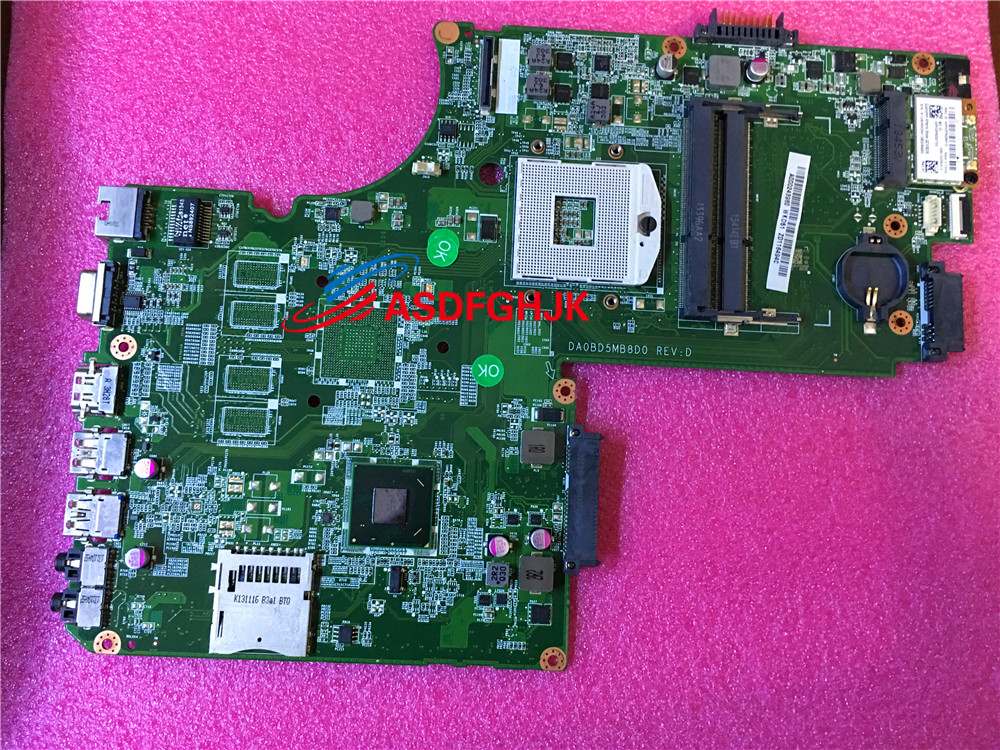 Genuine for Toshiba S75 L75 Laptop Motherboard DDR3 HM76 A000243980  DA0BD5MB8D0 100% TESED OKGenuine for Toshiba S75 L75 Laptop Motherboard DDR3 HM76 A000243980  DA0BD5MB8D0 100% TESED OK