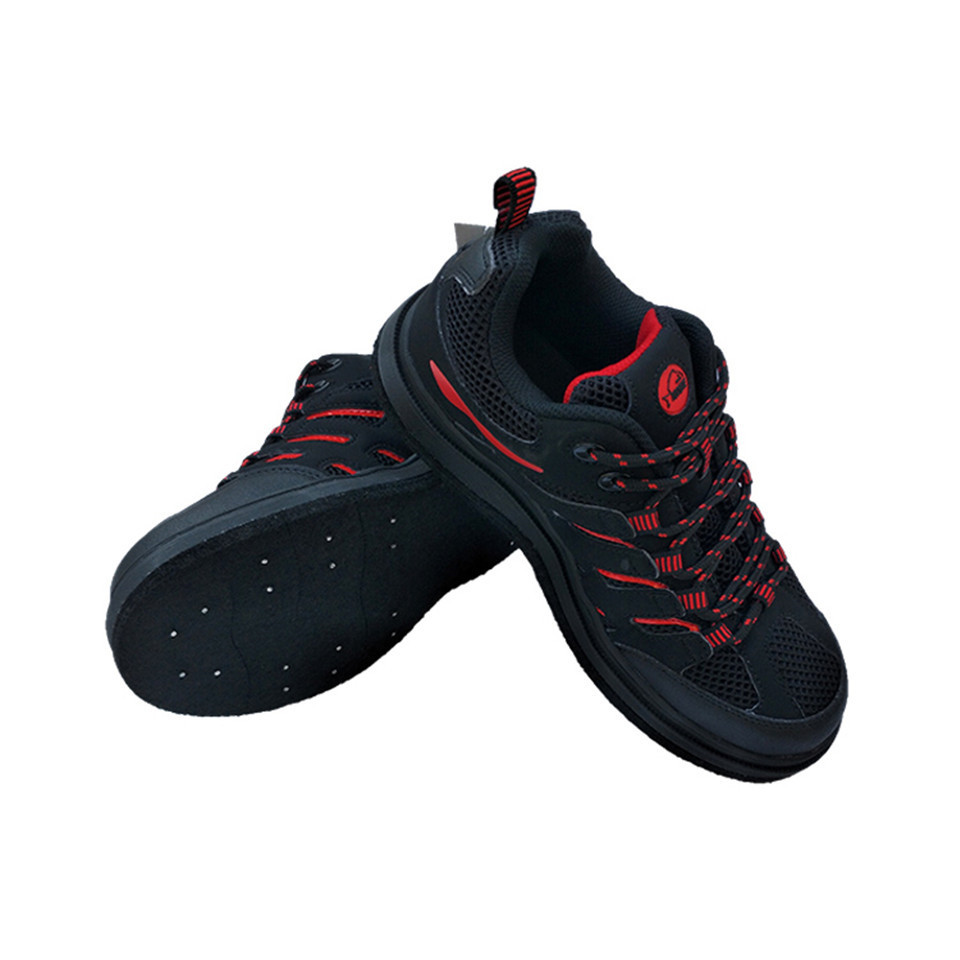 Fly Fishing Shoes Aqua Sneakers Hunting Waders Outdoor Breathable Water Shoes Anti-Slippery Felt Sole with Nail for Men Women F1