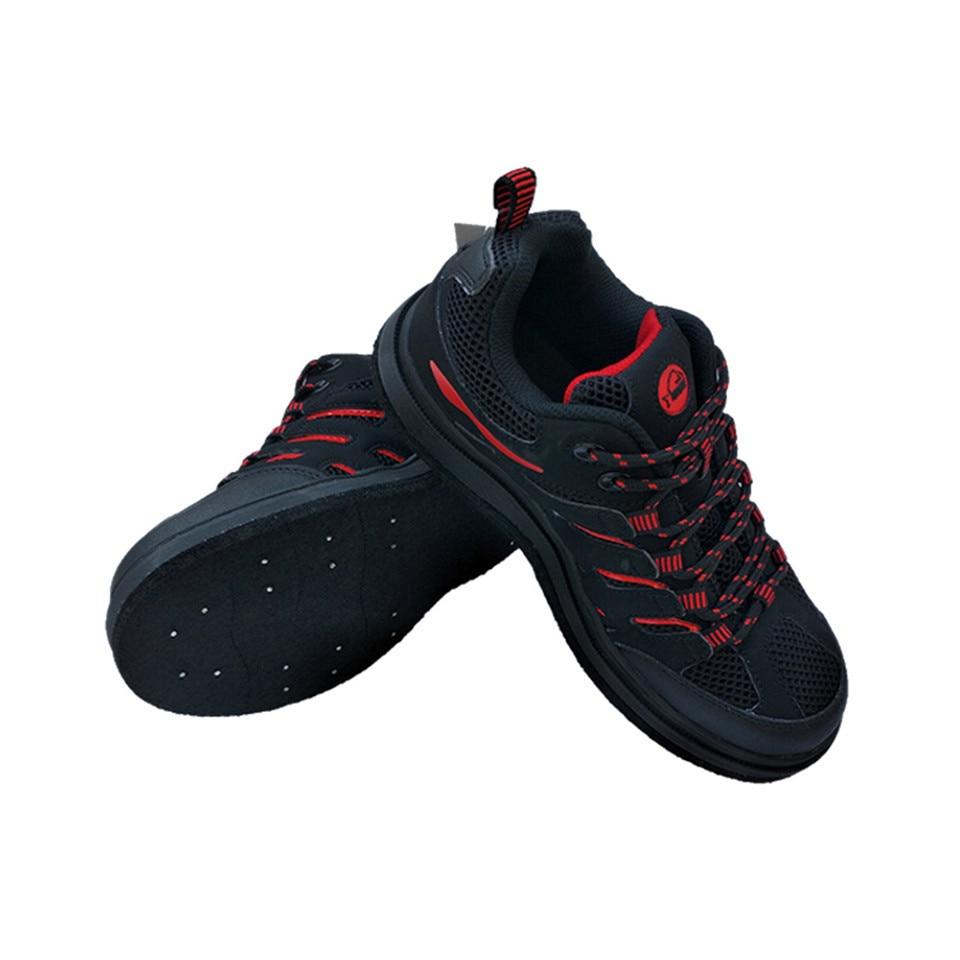 Vliegvissen Schoenen Aqua Sneakers Jacht Steltlopers Outdoor Ademend Water Schoenen Anti-Gladde Vilt Zool met Nail voor Mannen vrouwen F1