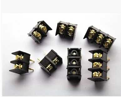 KF1000/2/3/10,0 4Pin mm/2/3/4 Pin 2/3/4 camino recto Pin 300 V 25A PCB tornillo bloque conector